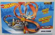 Hot Wheels Spin Storm Motorized Track Set - New In Sealed Box