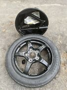 2003-2007 Cadillac Cts 05-11 Sts Spare Tire Compact Donut With Jack Oem