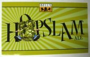Hopslam Ale Beer Sticker Label With Hops Man Belland039s Brewery Comstock Michigan