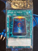 Book Of Moon Optp-en003 Super Rare Limited Speed Duel Prize Card Sealed Yugioh