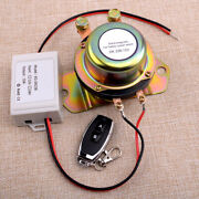 Car Wireless Remote Control Battery Isolator Switch Terminal Master Kill System