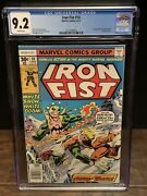 Iron Fist 14 Cgc 9.2- 1st App Sabertooth Victor 3727449004 White Pages