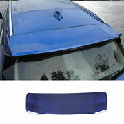 Fit For Bmw X3 G01 2018 2019 2020 2021 Abs Blue Roof Boot Spoiler Wing Flap 1pcs