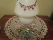 Lot Of 11 Vintage Sherman Earringsbroochesnecklaces Signed And 1 Unsigned