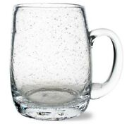 Tag Clear Bubble Glass Beer Stein Set Of 6 - Drink Glass - 18 Oz. Free Shipping