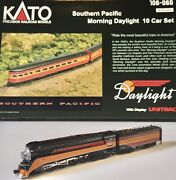 Kato N Scale Gs-4 Morning Daylight With New Ten Car Set