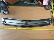 1952 Oldsmobile Grill Metal Part Bumper Bomber Low Rider Center Chrome Guard Oem