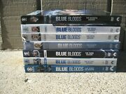 Lot 7 Blue Bloods Complete Season Dvd Sets 1 2 3 4 5 6 7 Discs Are Vg Fast Ship