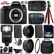 Canon Eos Rebel T6s Dslr Camera With 18-55mm Is Stm Lens And 75-300mm Iii Bundle