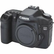 Canon Eos 50d Dslr Camera Body Only Discontinued By Manufacturer