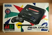Sega Mega Drive 2 Asian Specification Boxed Working Complete