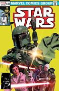 Star Wars 13 Mike Mayhew Boba Fett 68 Homage Trade Dress Variant-a Very Rare