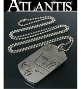 Chrome Hearts Ginza Store With Invoice Large Dog Tag Aoyama 20th Anniversary