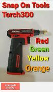 Snap-on Torch300 4 Colors To Choose High-power Butane Gas Blow Torch New
