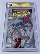 Amazing Spiderman 361 Cgc 9.8 Ss Lee/michelinie 2nd Print 1st App Of Carnage