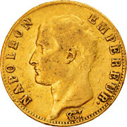 [907143] Coin France Napolandeacuteon I 20 Francs An 14 Paris Ef40-45 Gold