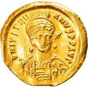 [907013] Coin Justinian I Solidus 527-565 Ad Constantinople Frison