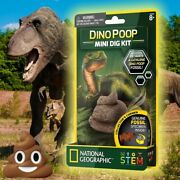National Geographic Dino Poop Mini Dig Kit With Genuine Fossil Inside - Stem Toy