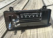 Vtg 1980s Chevy Gmc Truck K5 Blazer Suburban Heater And Ac Climate Control W Cable