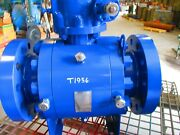 Vintrol Ball Valve 6 600 Rf Flanged Fp Trunnion Mounted W/ Gear Op And Hand Wheel