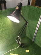 Herbert Terry And Sons Ltd Black Anglepoise Desk/wall Clamp Lamp