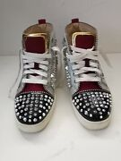 Christian Loubooutin Red Bottoms Fashion Sneaker Size 45 Fits Like Us 11