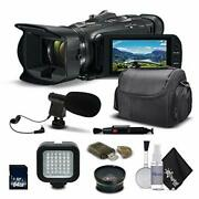 Canon Vixia Hf G40 Full Hd Camcorder 1005c002 +wide Angle Lens Carrying Case L