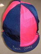 Davy Jones The Monkees Signed Autographed Jockey Cap One Of A Kind Horse Racing