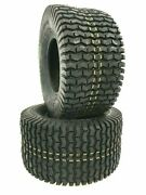 2 New16x6.50-8 D265 Turf Tires Tl 4ply 16 650 8 16-6.50-8 Free Shipping