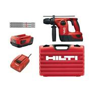 22-volt Lithium-ion Te 4 Sds-plus Cordless Rotary Hammer Drill Power Tool Red