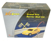 Zip Zaps Micro Rc - Grand Prix Barrier Wall Kit Radio Shack Stickers Sealed Nos