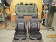 09-11 Bmw E90 3-series Front And Rear Complete Sport Leather Seat Set Oem
