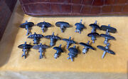 Lot Of 17 X Antique Teapot And Caddy Finials Spares Or Repairs