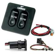 Lenco Standard Integrated Tactile Switch Kit W/pigtail F/single Actuator Syst...