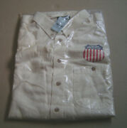Union Pacific Railroad Long Sleeve Button Xxl New W/tags Sealed