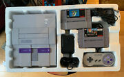 Nintendo Super Nes Launch Console Boxed No Manuals But All Parts Complete Used