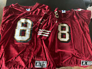 49ers - Steve Young Jerseys - Great Condition - Never Worn Rare