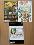Howard The Duck 1...2nd Print Hip Hop Movie Variant Marvel Vf/nm 1st Gwenpool