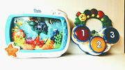 Baby Einstein Ocean Aquarium Dreams Soother W Sit And Play Color Discovery Drums