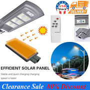 990000lm Commercial Solar Street Light 624 Led Outdoor Dusk-to-dawn Road Lamp Us
