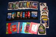 Wacky Packages 2012 Ans9 All New Series 9 Lot Of 36 Inserts Sale K1014