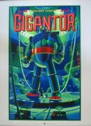 Gigantor Laurent Durieux Limited Edition Print 150 Very Rare 18x24