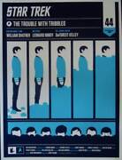 Star Trek Trouble With Tribbles Spock Limited Edition Print Olly Moss Mondo R10