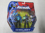 Batman The Brave And The Bold Blue Beetle Vs Kanjar Ro Action Figure 2-pack Js-2