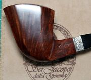 New Unsmoked Ser Jacopo Domina 2014 L1 Bent Panel Dublin Special Silver Band 94