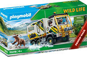 Playmobil Wild Life - Outdoor Expedition Truck 70278 For Kids 4 Yrs Old And Up