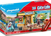 Playmobil City Life - Pizzeria Playset 70336 For Kids 4 Yrs Old And Up