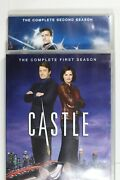 Castle - Season's 1 And 2 Dvd, 2010 9 Disc Set Region 4 - Preowned D866