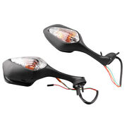 Rear View Rearview Side Mirrors Turn Signal Light For Honda Cbr 1000rr 2008-11