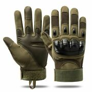 Touch Screen Tactical Gloves Paintball Airsoft Shooting Combat Anti-skid Bicycle